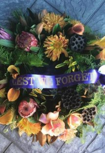 Creating Beautiful Floral Wreaths For Anzac Day